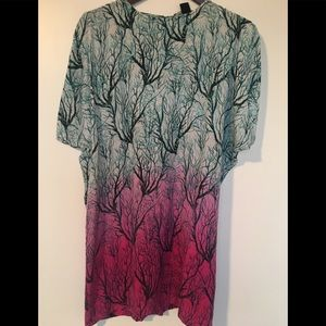French connection silk dress size 4